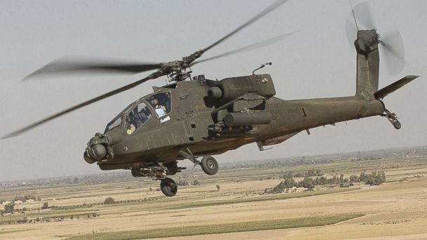 HT AH 64D Apache Longbow helicopter jt 141005 16x9 608 U.S. Now Using Apache Helicopters to Attack ISIS in Iraq