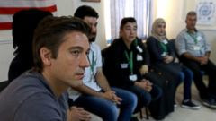 PHOTO: ABC News anchor David Muir traveled to Amman, Jordan, and spoke with some of the more than 600,000 refugees waiting to be assigned a new home abroad.