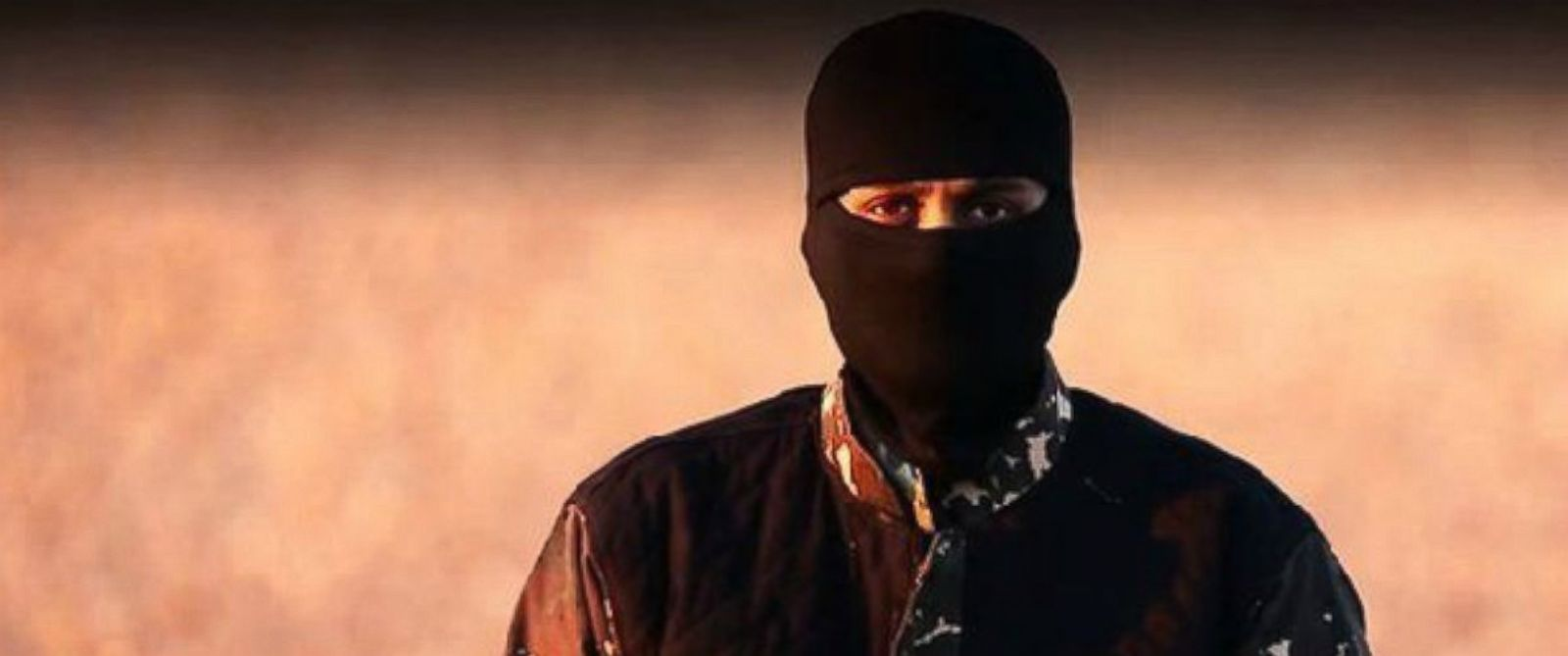 PHOTO: An unidentified jihadist with a British accent featured in a recent video released by the Islamic State.