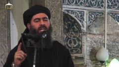 PHOTO: A video posted on a jihadi Twitter feed showed what purports to be the first known video of Abu Bakr al-Baghdadi, leader of the Islamic State of Iraq and Syria.