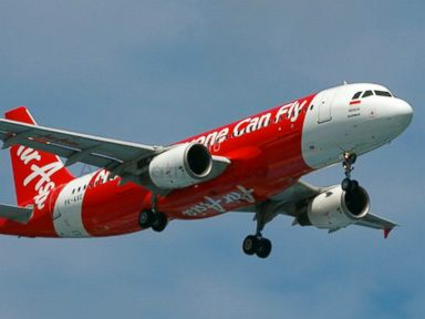 PHOTO: This photograph from April 2014 shows Indonesia AirAsia's Airbus A320-200 PK-AXC in the air near Jakarta Soekarno–Hatta International Airport.