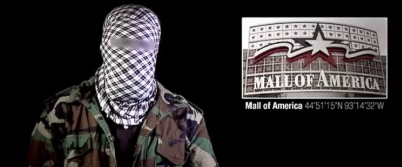 PHOTO: Militant group al-Shabab threatened the Mall of America in a video posted online.