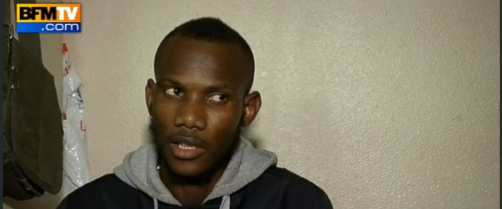 PHOTO: Clerk tells French TV about surviving hostage situation in freezer.