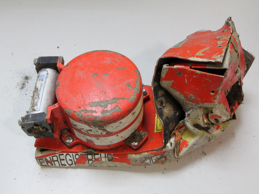 PHOTO: The Bureau of Enquiry and Analysis for Civil Aviation Safety in France released images of the black box recovered in the Germanwings plane crash.
