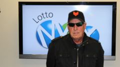 PHOTO: Tom Crist, of Calgary, Alberta, Canada, plans to donate the entirety of his lottery winnings to charity.