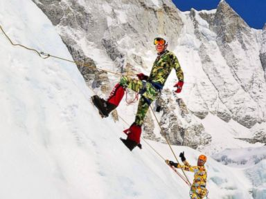 PHOTO: Google executive Daniel Fredinburg was killed in an avalanche on Mt. Everest that was triggered by an earthquake April 25, 2015.