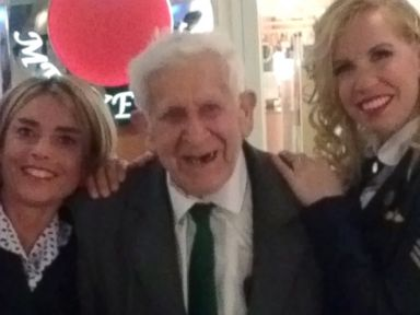 WWII Vet Sneaks Out of Nursing Home to Attend D-Day Remembrance