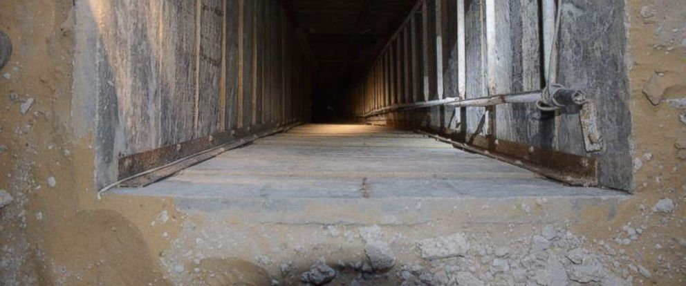 "PHOTO: The IDF posted this photo to Twitter, July 22, 2014, with the caption, ""So far, we have exposed 23 Hamas tunnels with 66 openings throughout Gaza."""