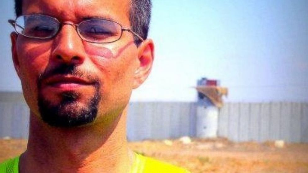 PHOTO: Joe Catron, pictured, is originally from Virginia but he moved to the Gaza Strip in 2011 and has become involved in solidarity and activism work in the area.