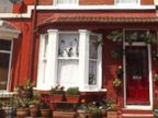PHOTO: John Lennons childhood home at 9 Newcastle Road, in Liverpool.