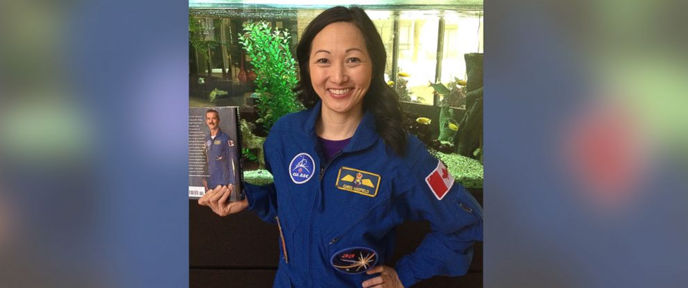 PHOTO: Dr. Julielynn Wong purchased Chris Hadfields flight suit for just $40.