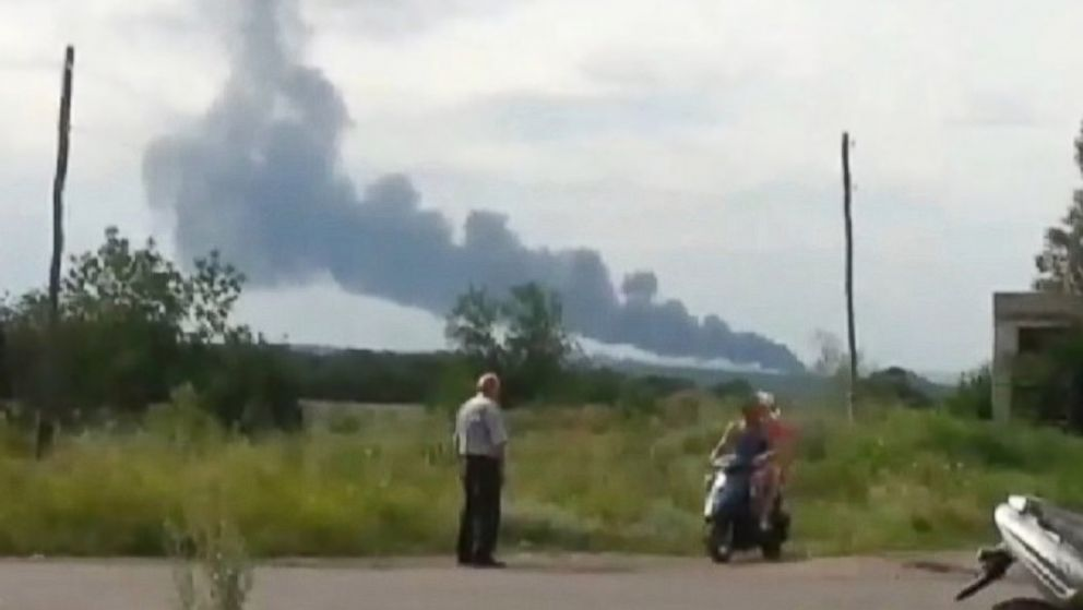 PHOTO: Malaysia Airlines says it has lost contact with an airliner over Ukrainian airspace.