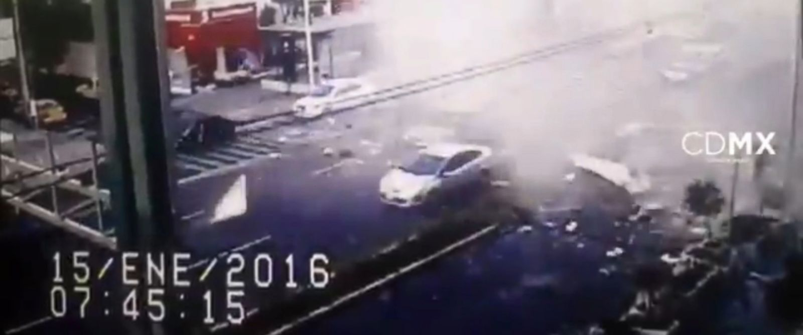 PHOTO: Video of an explosion at a Mexico City restaurant was posted to an official city Twitter account.