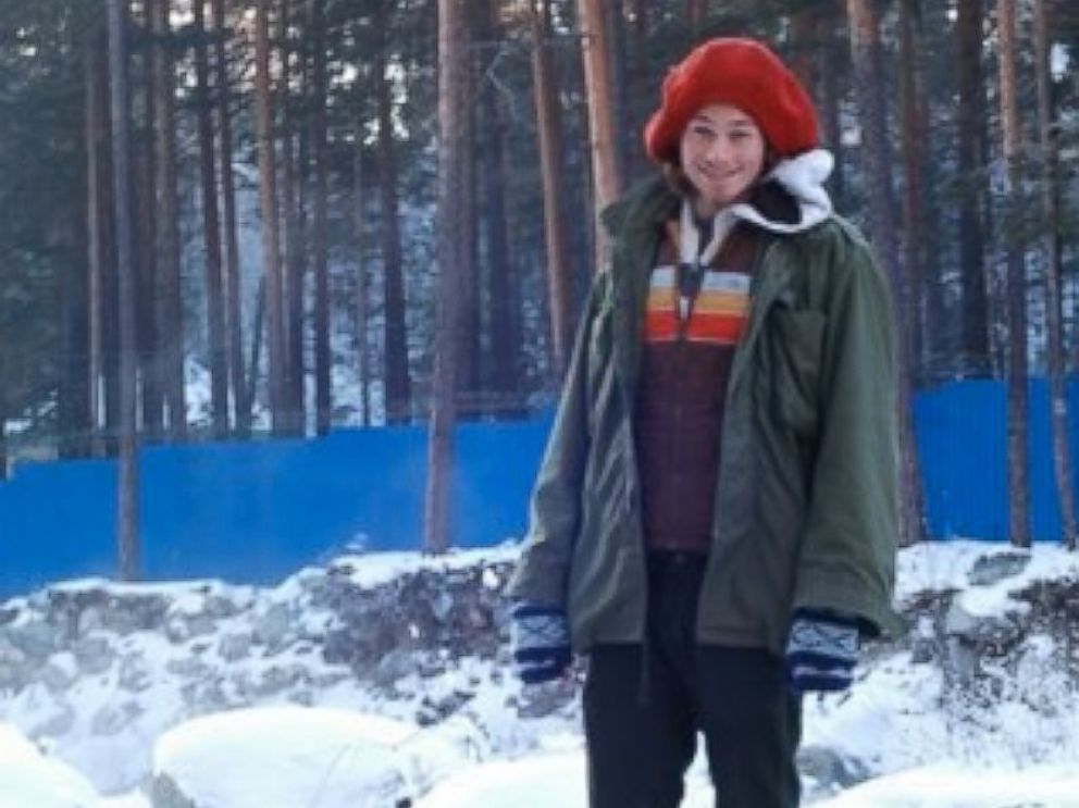 PHOTO: Colin Madsen is seen here in a former profile photo from the Russian social network Vk. A search is underway in eastern Siberia for the U.S. student.