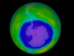 Antarctica's Ozone Hole Is Shrinking, Study Shows