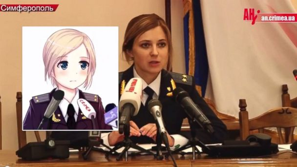HT natalia poklonskaya anime tk 140325 16x9 608 Crimeas Attorney General Becomes Anime Star