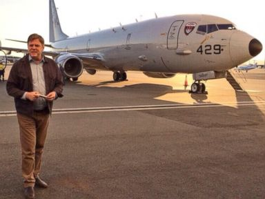 Aboard the P-8 Poseidon Searching for Missing Jetliner