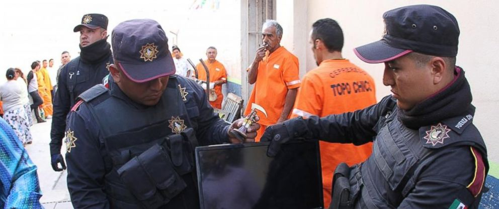 PHOTO: Some cells at a Mexican prison were equipped with goods including mini-bars, televisions and saunas.