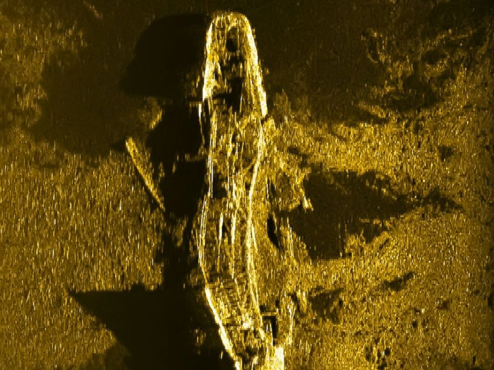 PHOTO: In the search for MH370, Australian officials founds a shipwreck on Dec. 19 believed to be from the 19th century.