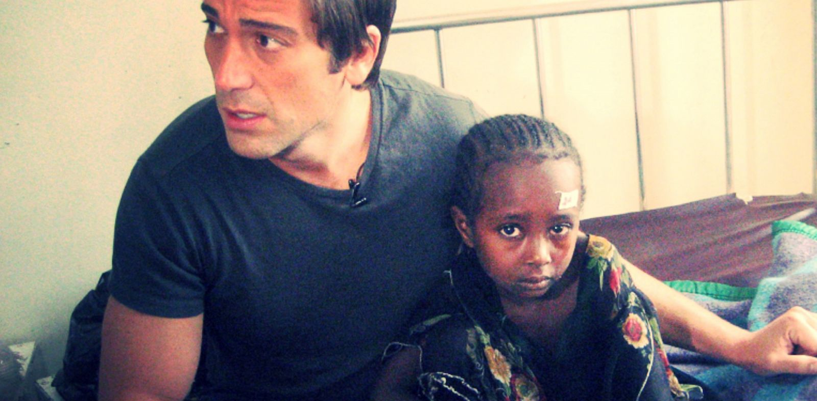 PHOTO: David Muir In Ethiopia