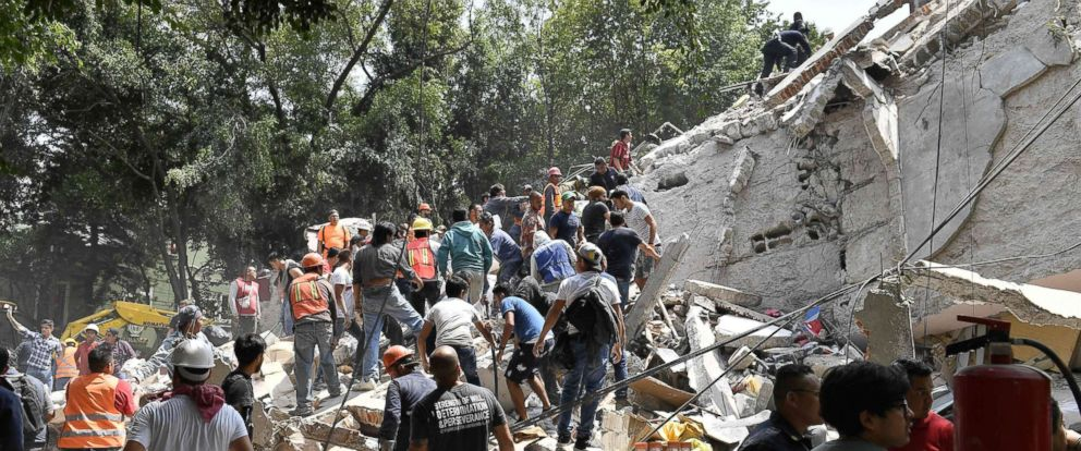 More than 200 dead after 7.1 magnitude earthquake strikes Mexico