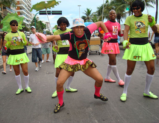 Dancing in Streets for Carnival