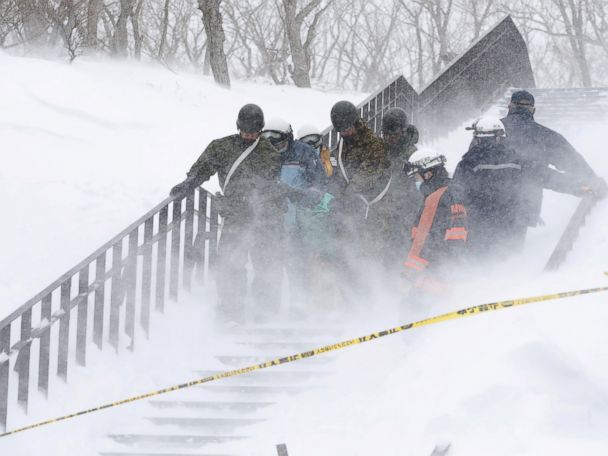 Japan avalanche kills young mountaineers, instructor