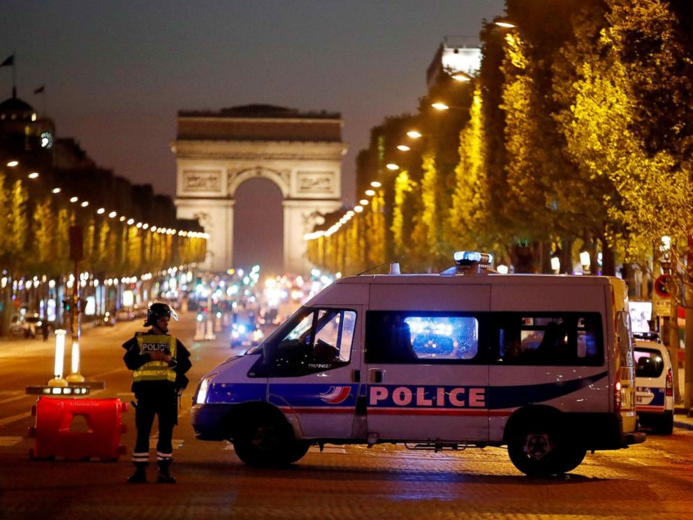Champs-Elysees gunman was previously detained but not deemed a threat