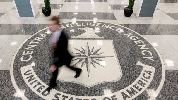 PHOTO: The lobby of the CIA Headquarters Building is pictured in Langley, Virginia.