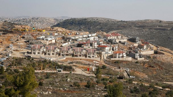 PHOTO: A general view shows a construction site in the Israeli settlement of Efrat, in the occupied West Bank, December 29, 2016.