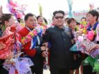 Kim Jong-un Greets North Koreas Female Soccer Team