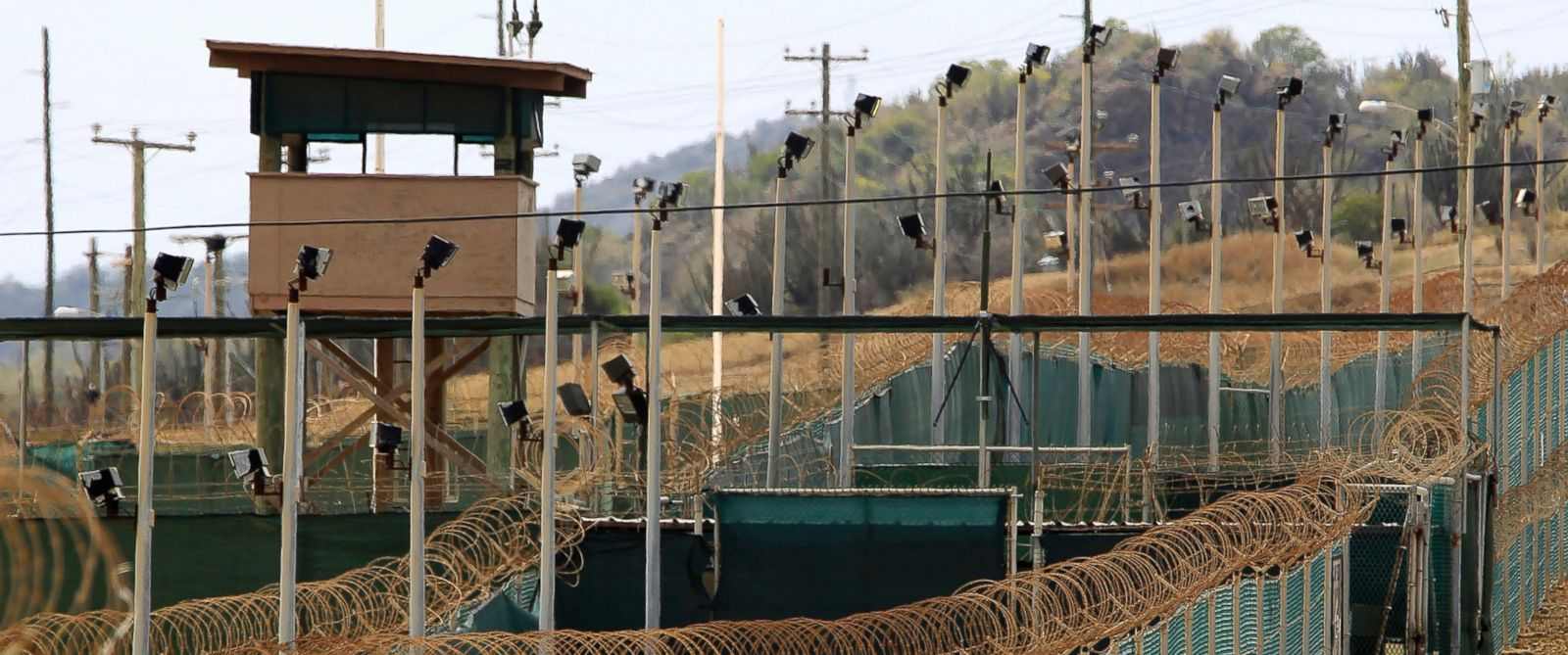 PHOTO: The exterior of Camp Delta is seen at the U.S. Naval Base at Guantanamo Bay, March 6, 2013.