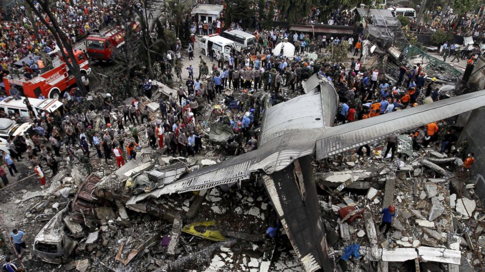 Over 100 Dead in Indonesia After Military Plane Crashes in ...