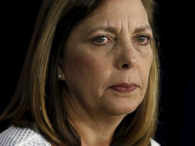 PHOTO: U.S. Division of the Ministry of Foreign Affairs Director General Josefina Vidal speaks at a news conference in Washington, after the fourth round of U.S.-Cuba talks to re-establish diplomatic relations and re-open embassies, May 22, 2015.