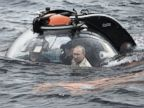 Russian President Vladimir Putin Takes a Ride in the Black Sea