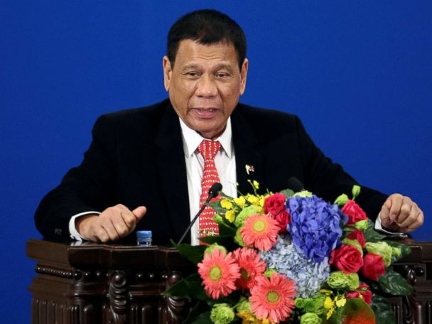 Philippines Separating From 'Discourteous' US, Says President