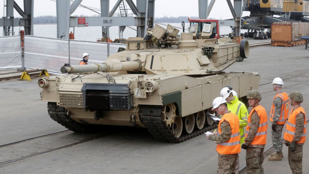 US conscents tank sale to Saudi Arabia