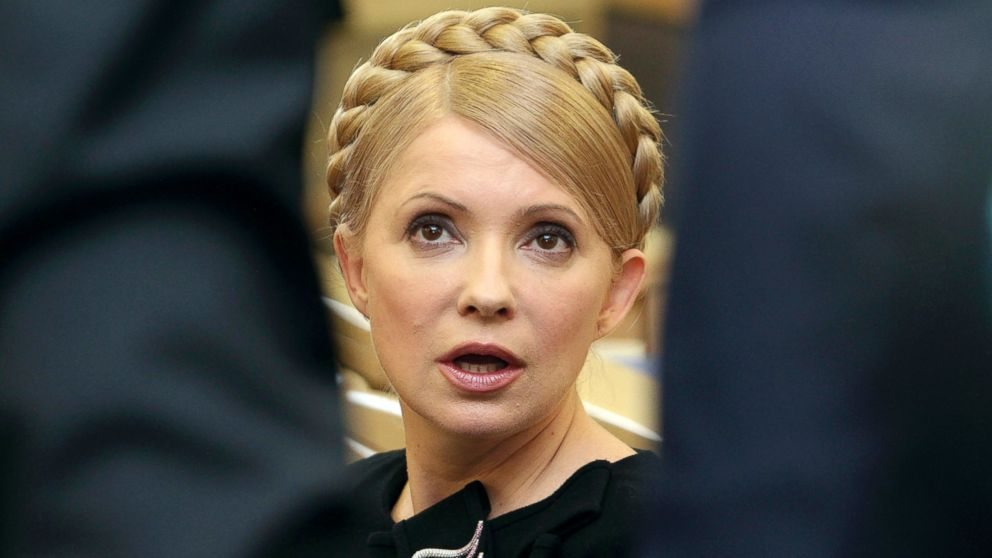 PHOTO: Ukrainian Prime Minister Yulia Tymoshenko speaks during a session of the Higher Administrative Court in central Kiev, Feb. 19, 2010.