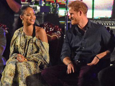 Prince Harry and Rihanna Meet in Barbados