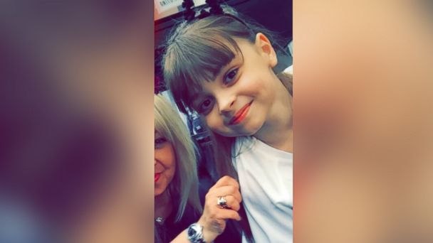 PHOTO: An undated photo of 8-year-old Saffie Roussos; she died in the Manchester, England, attack on May 22, 2017.
