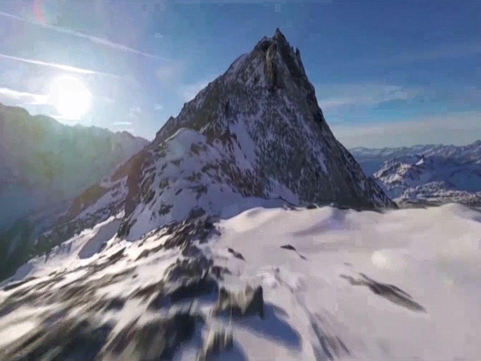 Beautiful View of Swiss  Alps