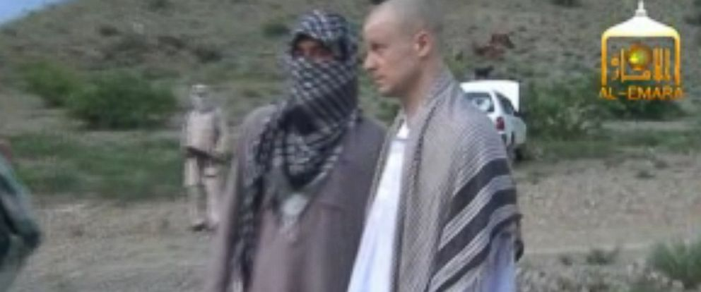 PHOTO: Video released by the Taliban reportedly shows the handover of Army Sgt. Bowe Bergdahl, May 31, 2014 in Afghanistan.