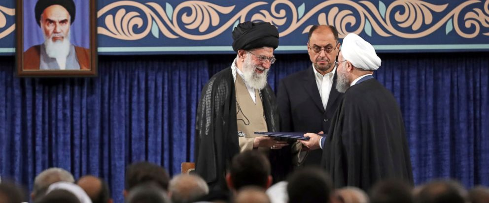 Ayatollah Ali Khamenei, Hassan Rouhani, Vahid Haghanian