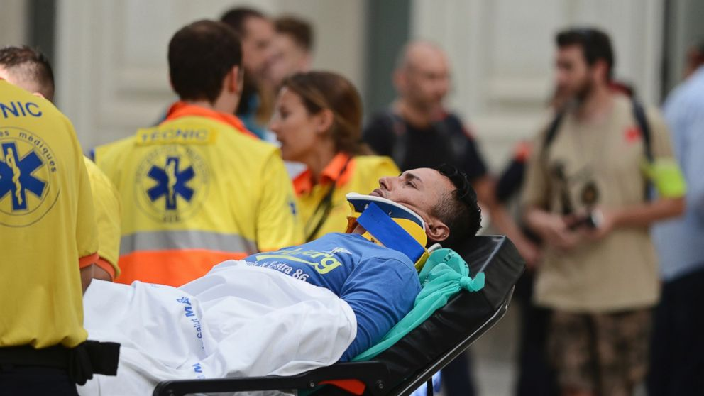 Spain: 50 injured in train station accident in Barcelona