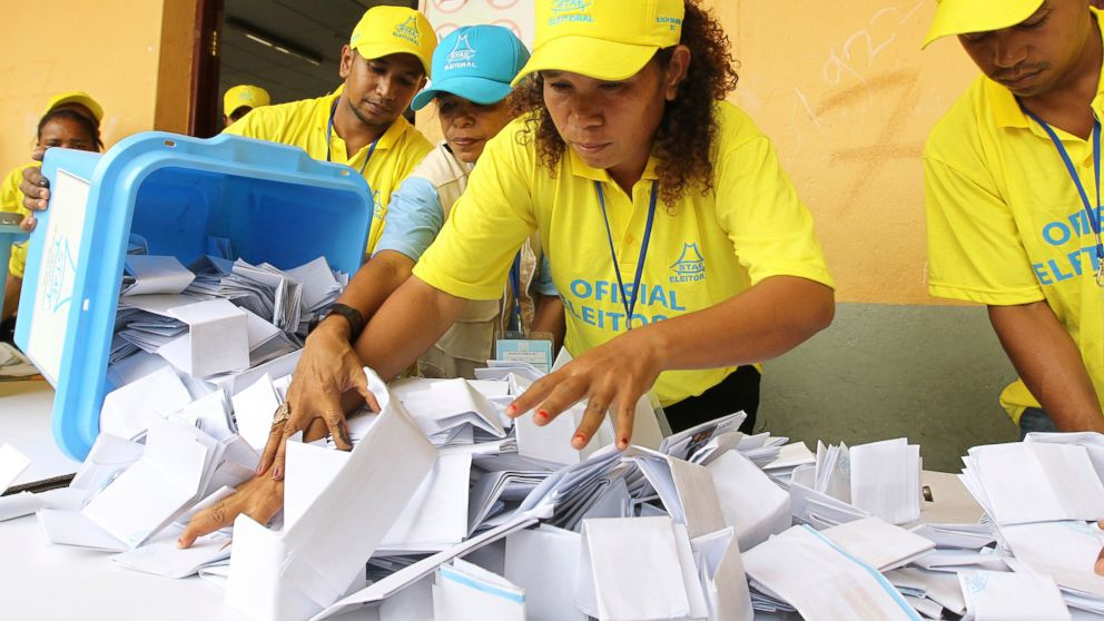 East Timor's main parties able to form gov't but lose ground