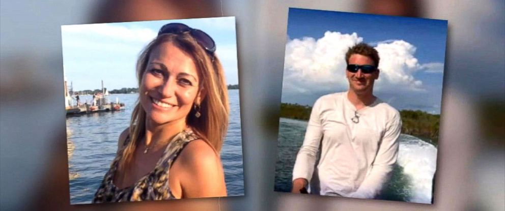 PHOTO: Drew DeVoursney, 36, and girlfriend Francesca Matus, 52, appear in this still from a WSB-TV video.