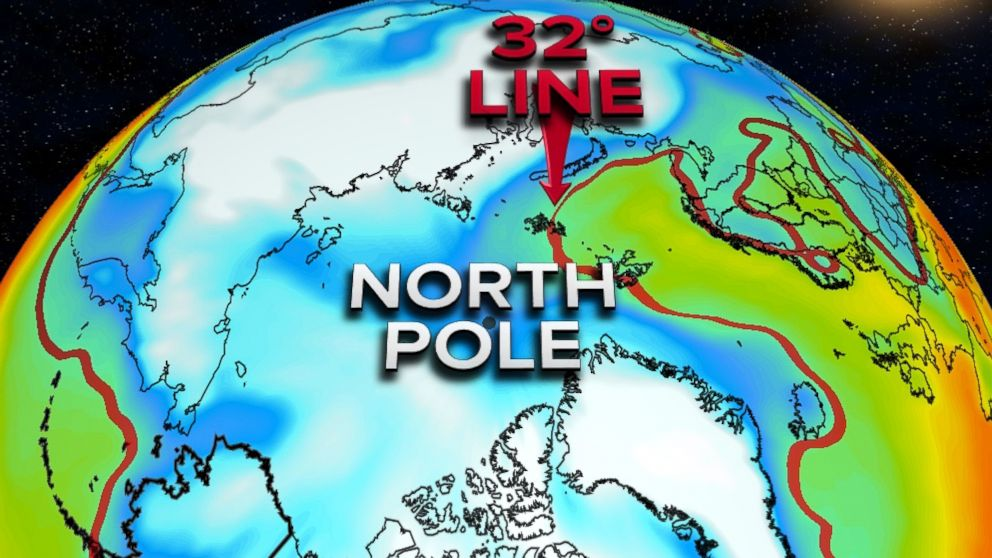 North Pole Temperatures Expected To Soar 50 Degrees Above