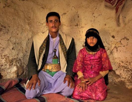 existence of child marriage in yemen An eight-year-old child bride has died in yemen of internal bleeding sustained during her wedding night after being forced to marry a man five times her age, activists have claimed the girl .