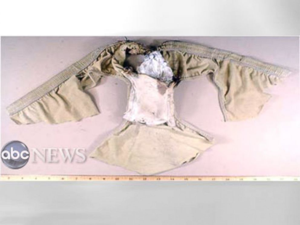 PHOTO: The underwear with the explosive worn by alleged Northwest 253 bomber Umar Farouk Abdulmutallab is shown in this undated photo.
