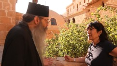 VIDEO: Part 1: Christiane Amanpour's journey takes her a monastery said to house the real biblical bush.